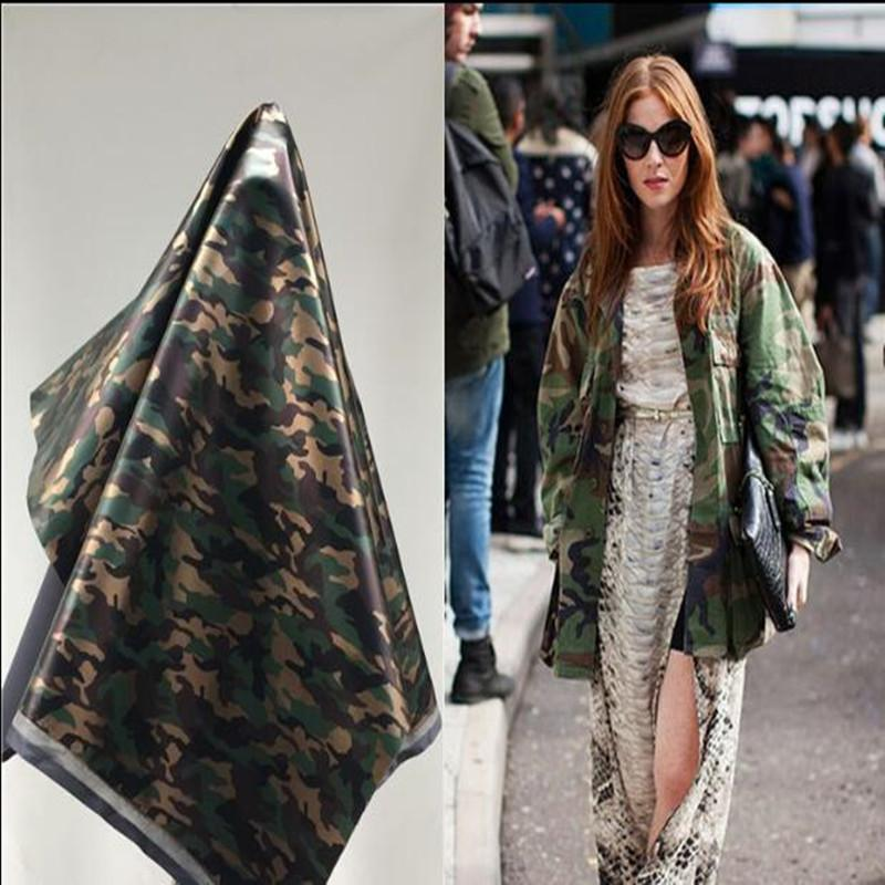 Gold camouflage pu lether fabric Elastic force magic color laser TPU clothing Waterproof PVC sofa coat diy textiles fabric,D167