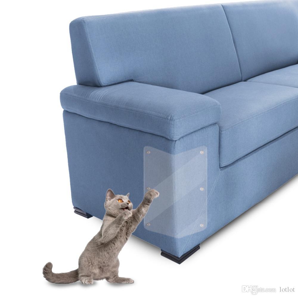 2 Pcs Couch guard Protetor de garra de Arranhamento de Gato de Estimação Guarda Gato Gatos Scratching Post Móveis Sofá Garra Protector Pads Para sofá