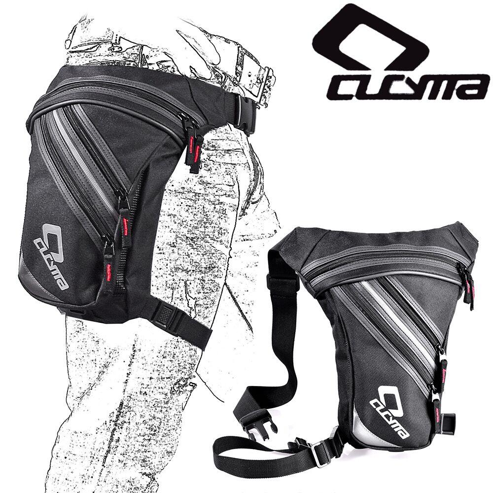 حزم مقاوم للماء الرياضة الساق حقيبة 3.5L رجل دراجة نارية الدراجات النارية قطرة Waistbag CROSSBODY Waistpacks السفر في الهواء الطلق ركوب الدراجات الفخذ حقيبة