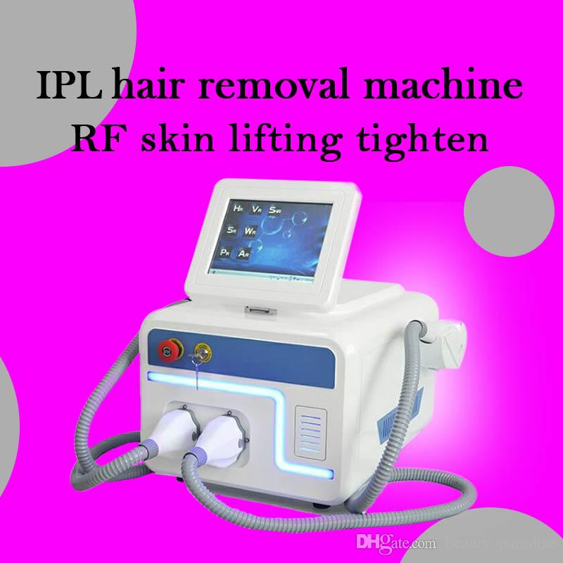 New version Home Use IPL Hair Removal Machine With 2 Treatment Permanently RF Skin Lifting Tighten Elight System With Free Shipping