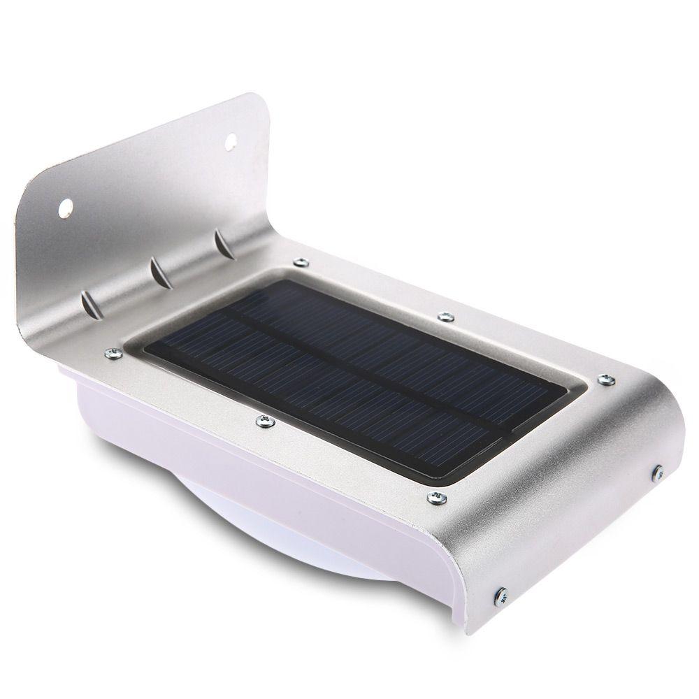 16 leds solar motion licht energiesparende infrarot sensor wandleuchte outdoor wireless solarbetriebene pir motion sensor garten lampen