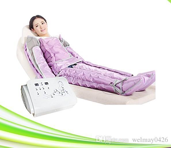 balneario del salón de presoterapia fisioterapia pierna presión de aire masajeador cuerpo que forma la máquina para adelgazar presión de aire