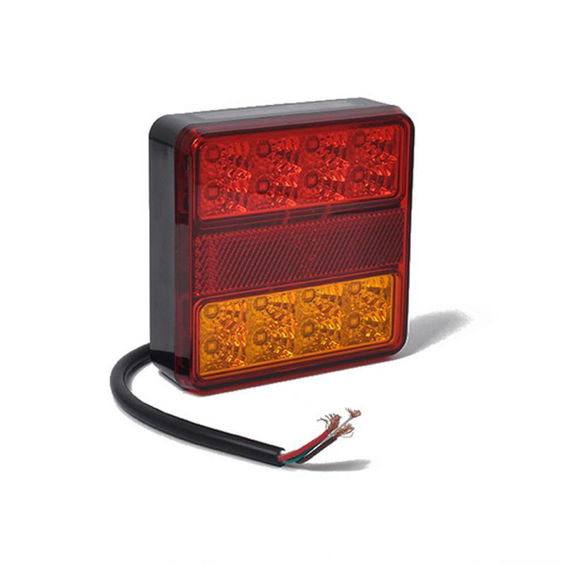 12V posteriore LED segnale del freno Lampeggiatore Rimorchio di coda del camion LED posteriore illumina 3 colori 22 Prompt Luce