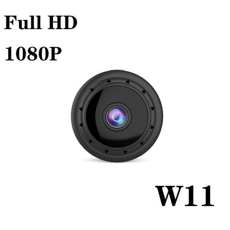HD Mini wifi IP kamera W11 HD 1080p kızılötesi gece görüş Mini DV kablosuz ağ ev güvenlik güvenlik kamerası desteği Hareket algılama