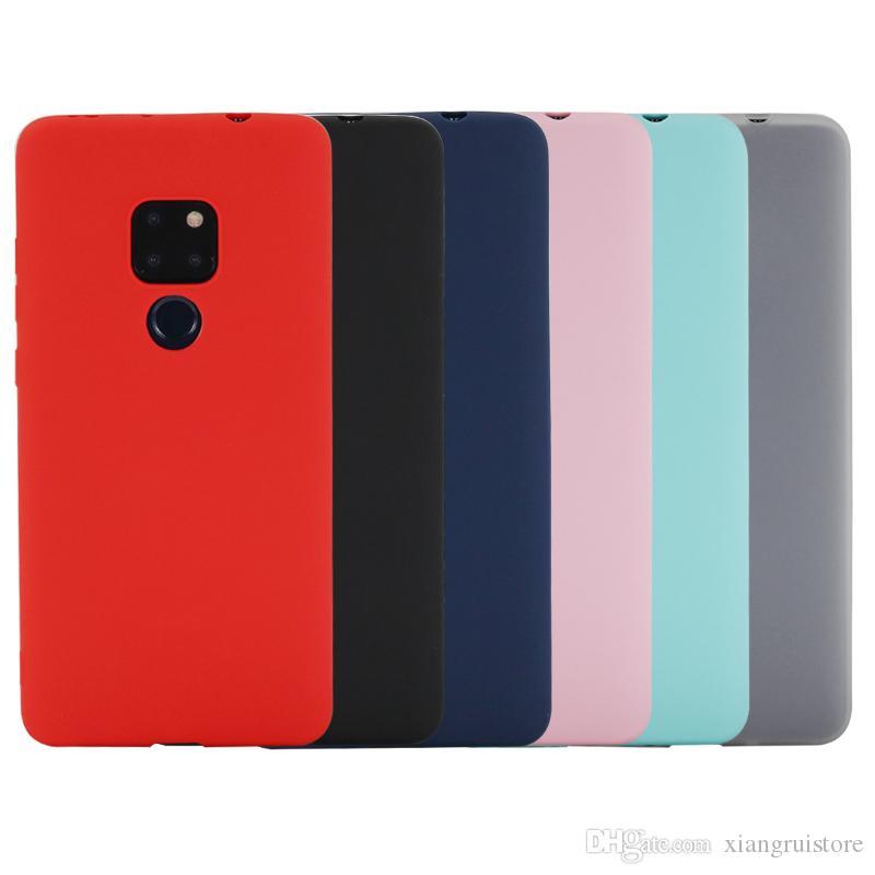 CUSTODIA COVER MORBIDA In Tpu Silicone Per Huawei Mate 20 Lite