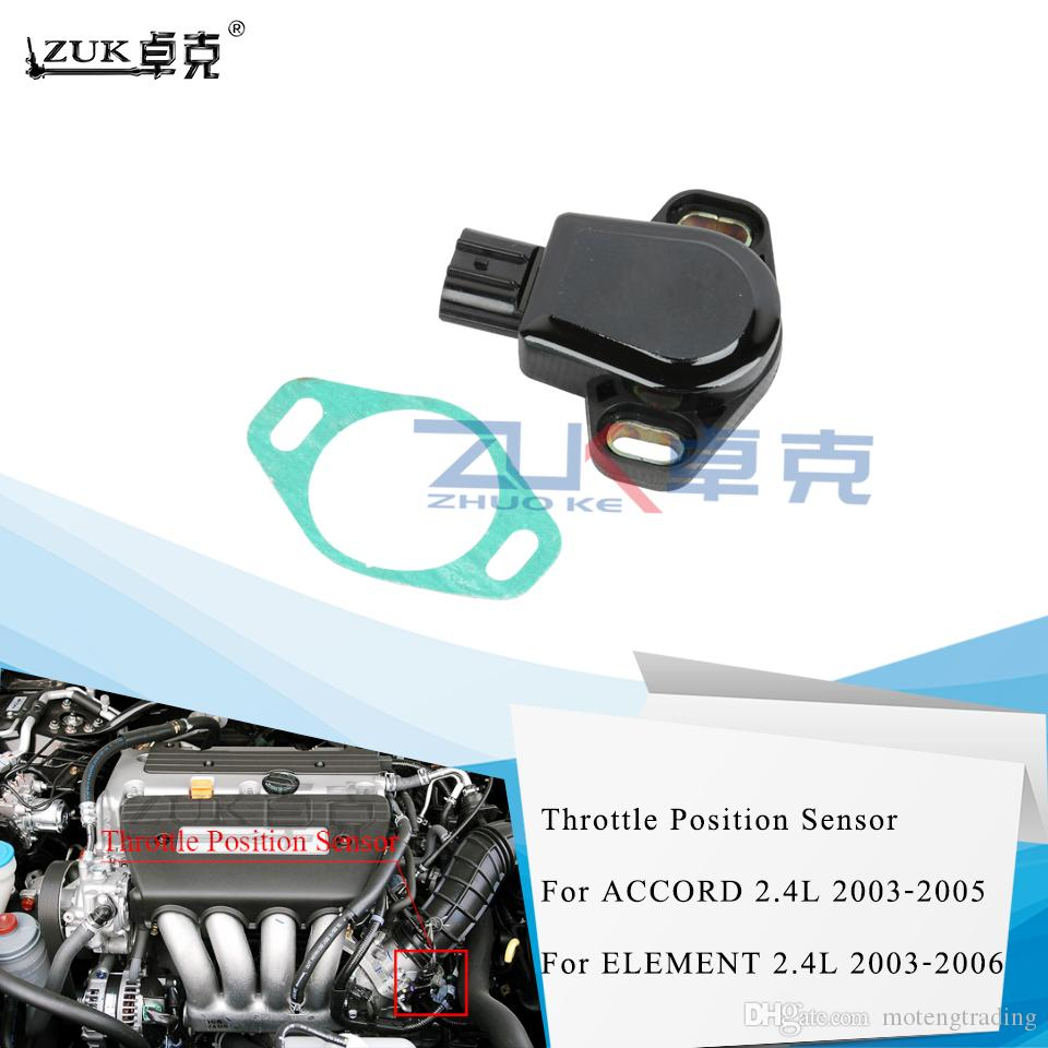 Fit 2003-2005 Honda Accord 2.4L Throttle Position Sensor TPS 16402-RAC-A00 New