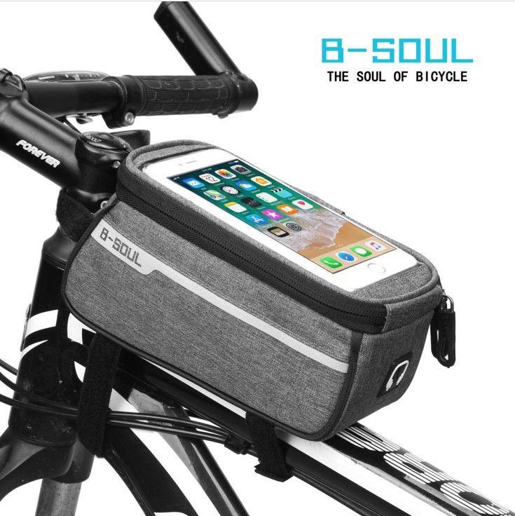 Mountainbike Tasche Strahl vor Paket Fahrrad Satteltasche Reisetasche Multifunktionspaket Reise