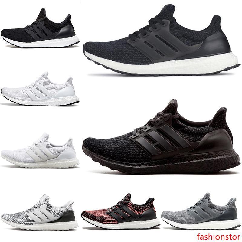 Ultra 3.0 pas cher 4.0 Chaussures de course UB Triple Noir Blanc Gris Oreo CNY Hommes Femmes Sport Sneaker Taille 36-45 Discount en ligne