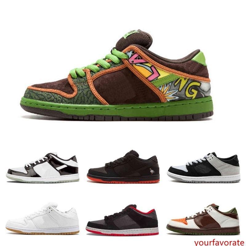 SB Dunk Low TRD QS Pigeon TOKIO 304292 zapatos de baloncesto 110 Cemento Negro Negro paloma La paloma de la paz auténtica zapatillas Limited Release