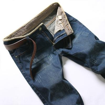 wX9LS 2020 estilo Primavera e Outono jeans novos coreano casuais e jeans reta grandes calças dos homens de tamanho moda homens de lavados calças casuais
