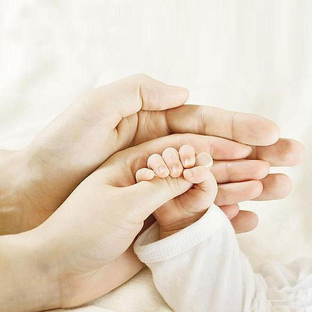 al por mayor de fresa redonda 5D bordado padres la celebración de la mano del bebé bordado decoración regalos Kits de Arte