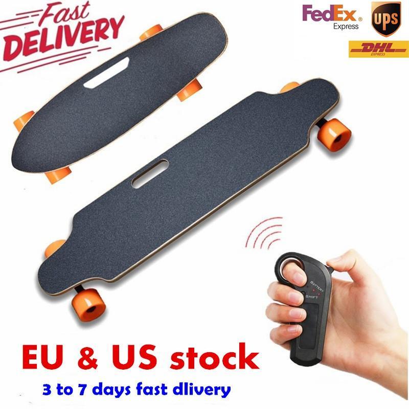 미국 유럽 네 바퀴 전기 스케이트 보드 무선 리모콘 스쿠터 플레이트 보드 호버 보드의 외발 자전거에서 배송