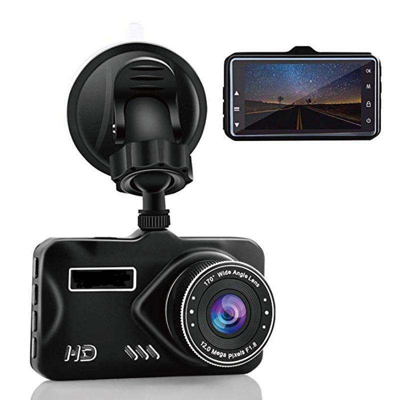 High quality BT600 3.0 inch FHD1080P car DVR 2.5D glass screen dual lens HD night vision video camera 24H parking monitoring recorder