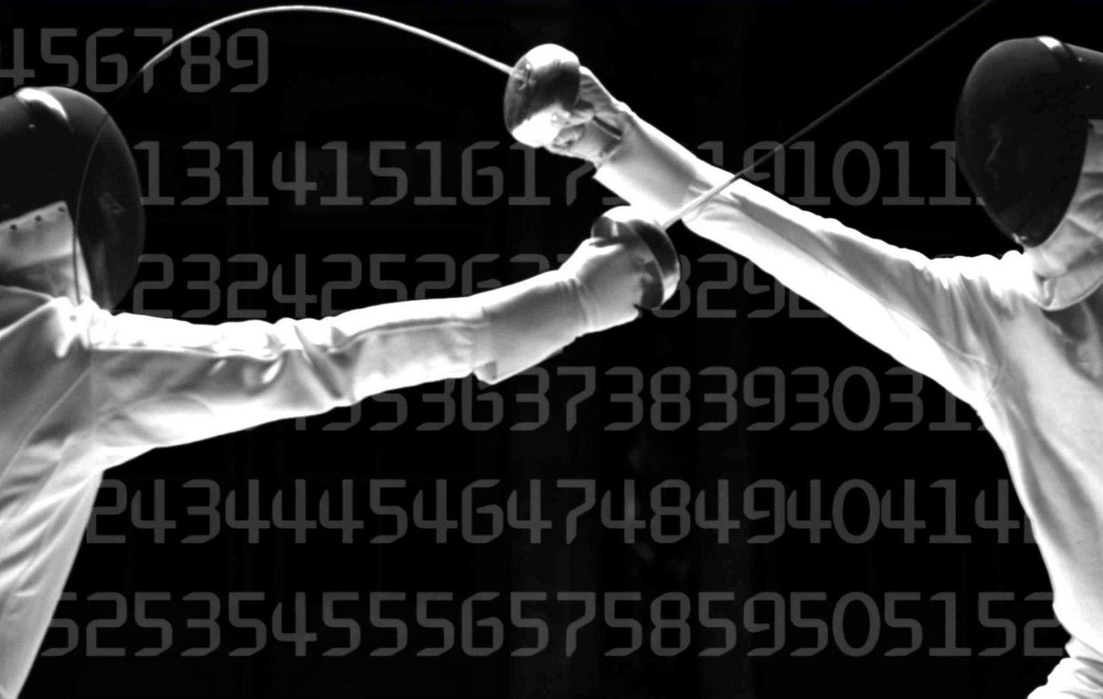 2018 Fencing/Sword Fighting Olympic Combat Sport Art Art Silk Print Poster  24x36inch60x90cm 016 From Chuy8988, &Price