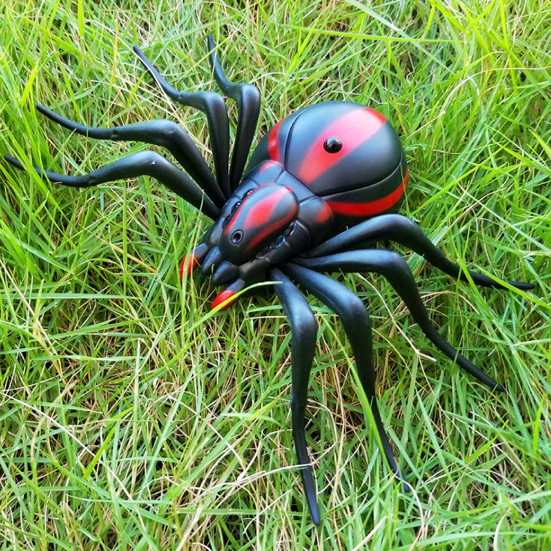 RC Animals Toys Kit For Adults Smart Cockroach 2.4G Remote Control Spider Ant Prank Jokes Radio Control Insect Toys For Children MX200414