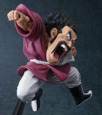 Anime Video Game 14Cm Dragon Ball Z Action Figure Hercule Mark Satan Pvc Figure Collectible Model Toy