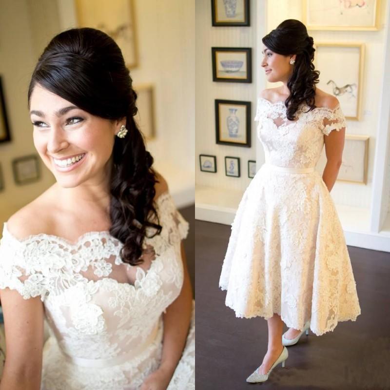 Discount Wangyandress Off Shoulder A Line Wedding Dresses Pleated
