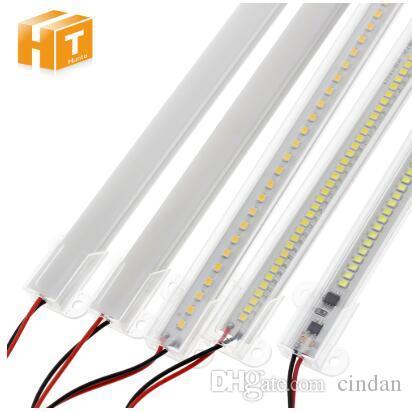 LED 막대기 빛 AC220V 높은 광도 50cm 30cm 72LEDs 2835 LED 엄밀한 지구 에너지 절약 LED 형광등