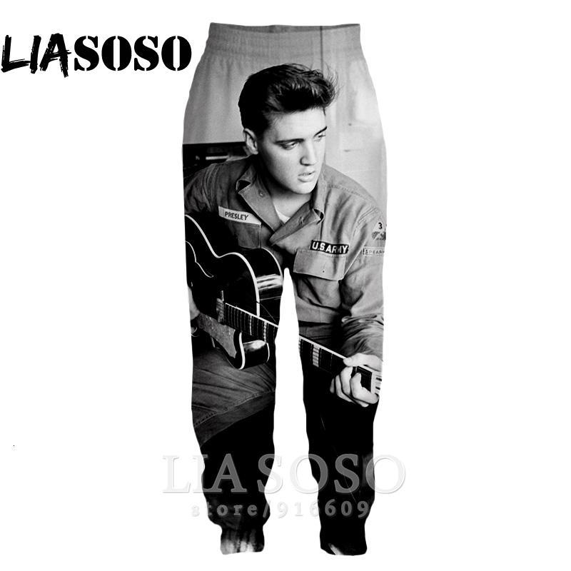 Compre 3d Imprimir Hombres Mujeres Cadera De La Longitud Completa Del Salto De Harajuku De Elvis Presley De Sweatpants Superior Casuales Pantalones De Invierno Pantalones Pop Del Animado Basculador E556 Cj191210 A