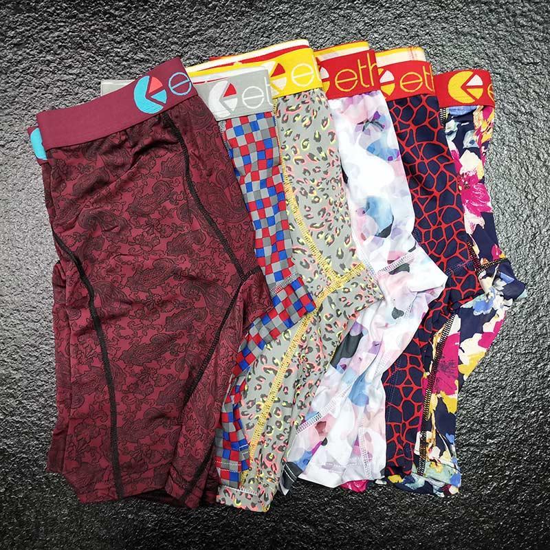 In Stocks Farbe Random Ethika Mens Design-Unterwäsche Boxershorts Mens Hot Male Unterwäsche-Mann-Boxer-Unterhosen atmungsaktiv Cuecas Boxer