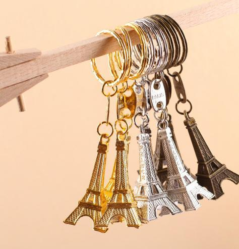 Wholesale- 30PC Torre Eiffel Tower Keychain Key Souvenirs, Paris Tour Eiffel Keychain Rustic Wedding Gifts for Guests Wedding Centerpieces