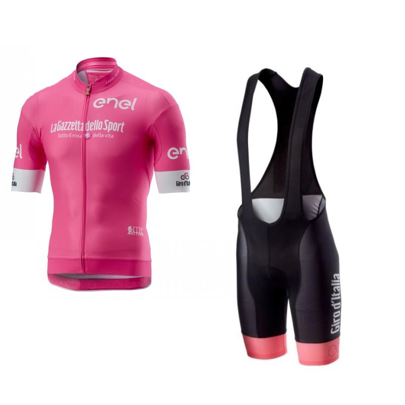 2020 pink girode italia tour de italy cycling jersey set summer bike clothing MTB road Ropa Ciclismo Bicycle maillot bib shorts