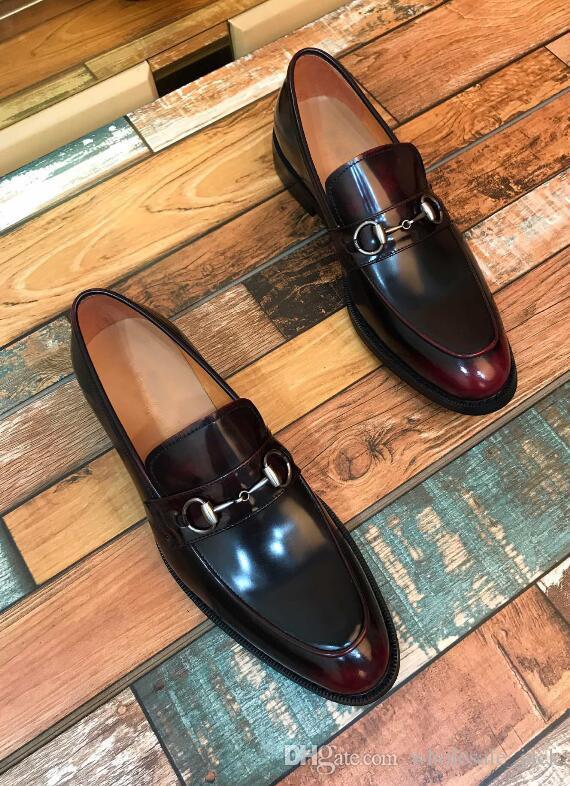 Toptan Ucuz Moda erkekler Rahat Kayma-on ayakkabı Erkekler Için Rahat Dantel-Up Marka Erkekler Flats Rahat Sürüş Ayakkabı Elbise ayakkabı