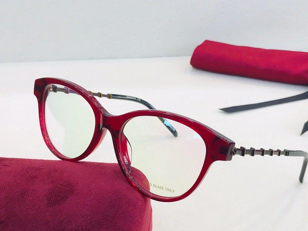 Case 0658 Рамка Очки Очки Очки Очки Eyeglass Lens Бренд Рамка Женщины Прозрачные Рамки Очки Окуны Очки с очками KXXHI