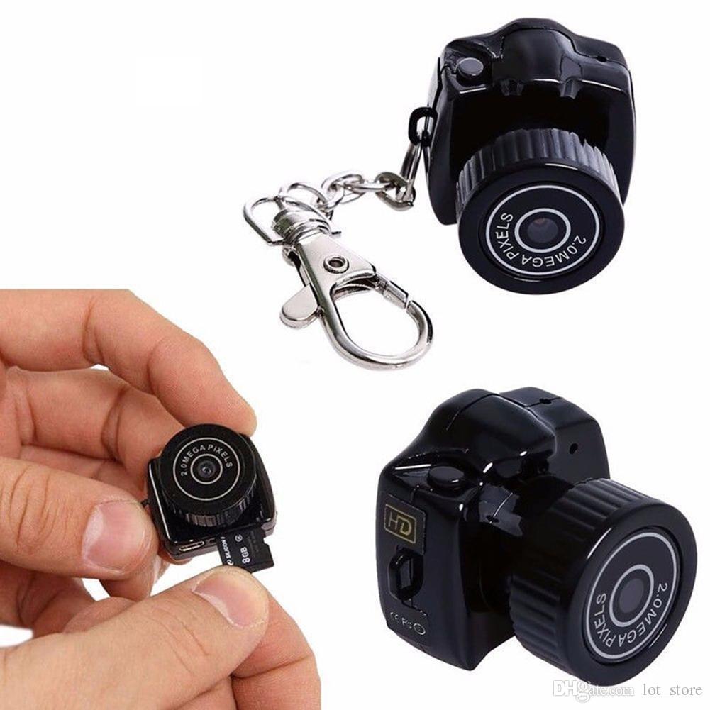 미니 Y2000 미니 카메라 캠코더 HD 1080P 마이크로 DVR 캠코더 휴대용 웹캠 비디오 보이스 레코더 카메라