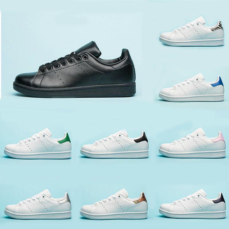 Compre Adidas Stan Smith Nueva Llegada Zapatos Stan Para Mujeres Hombres  2019 Oro Triple Blanco Negro Smith Zapatillas De Deporte Casuales Zapatos  ...