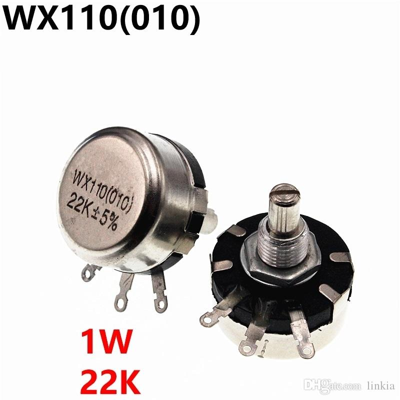WX110 WX010 010 1W 22K potenziometro regolabile resistenze