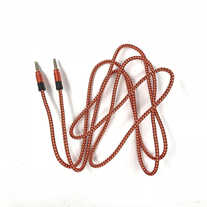 AUTO Top Sale Aux Stereo 3.5MM 1 M Car Male to M AUX AUXILIARY Sound Stereo Audio Audio Cable MP3 Wholesale