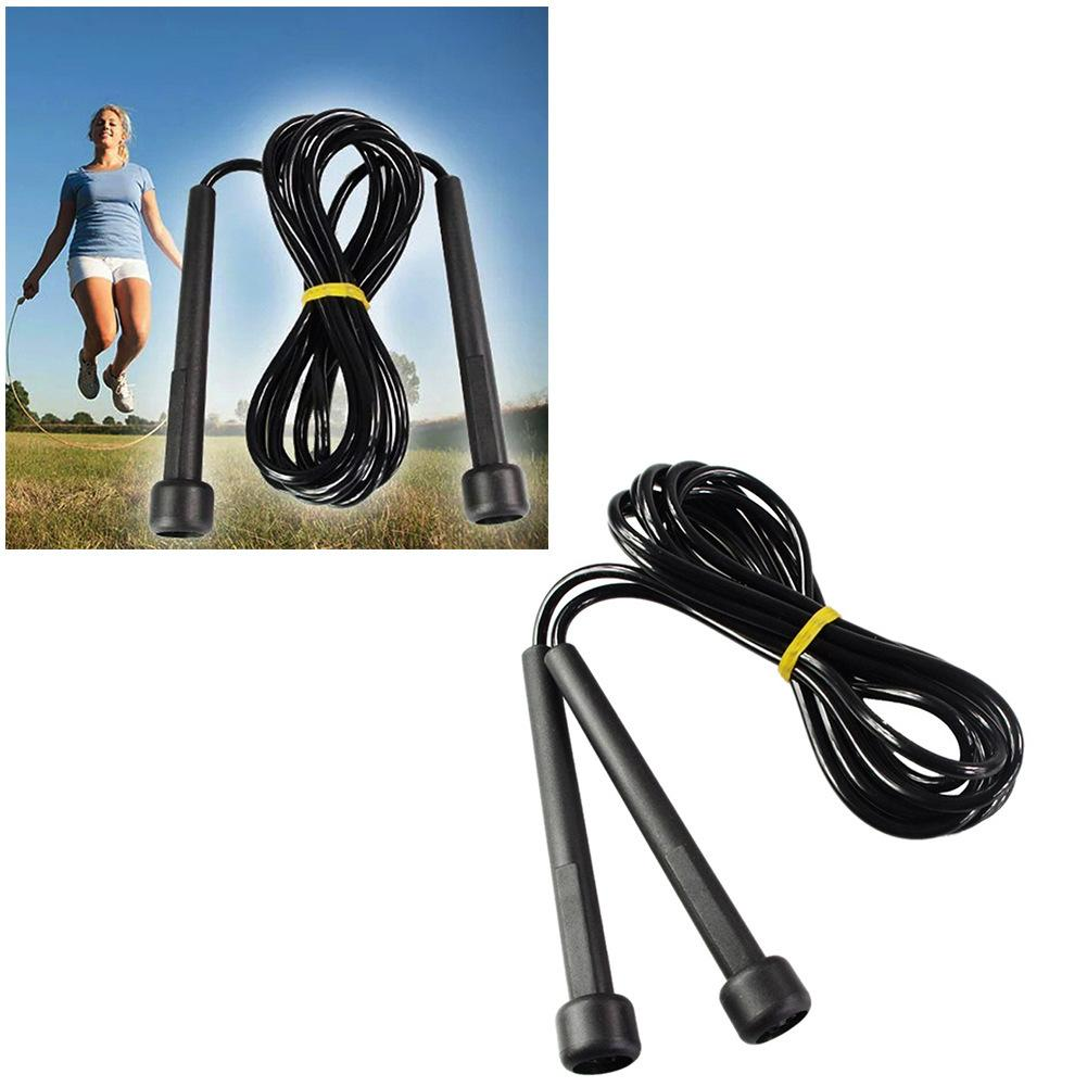 DHL Ship PVC Skipping Rope Speed Cable Jump Rope Crossfit Box Home Gym Kids Jumpping Ropes Students Jump Strings Strape FY7050