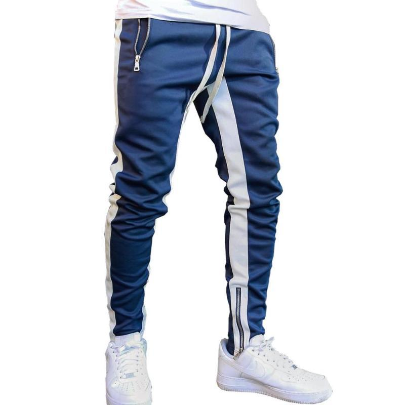 Mens cotone Joggers Sport in esecuzione pantaloni degli uomini fitness sportivo Pantaloni di tuta Skinny Pantaloni sportivi Pantaloni Pantaloni sportivi Palestre