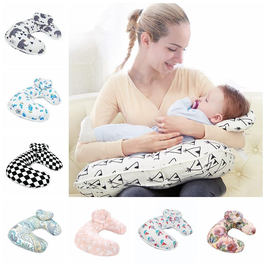 الرضاعة وسادة الإبداعية الطفل التمريض الحمل الأمومة الوسائد الرضع الكرتون انفصال U الشكل النوم وسادة TTA2098-7