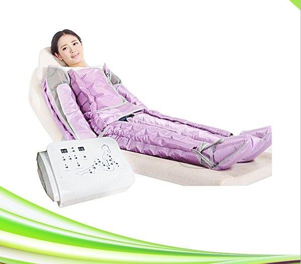 Sistema profesional de la terapia de la presión del aire del masaje del cuerpo de la terapia de la presión del aire de la presoterapia del salón del balneario profesional para la venta