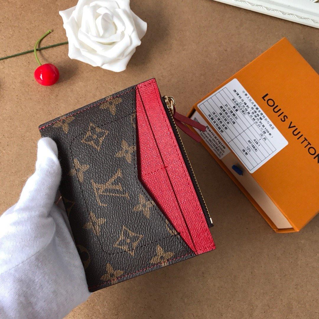 Neues Angebot neuer Kreditkartentasche Stil aus Leinwand, geringe Größe, mit Reißverschlusstasche und zwei Schlitze, zart und praktisch gemacht
