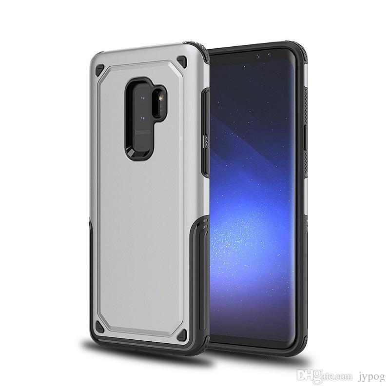 Para Samsung Galaxy S9 Case 2in1 Heavy Duty PC duro TPU Funda de teléfono a prueba de golpes para Samsung S9