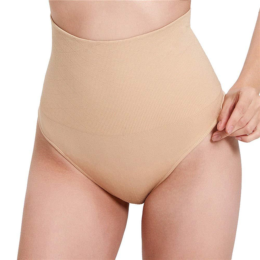 Womens Simple Body Shaper Waist Cincher Underwear Girdle Thong Panties Shapewear