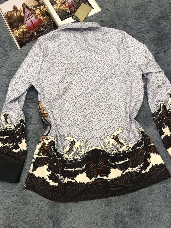chemisiers femmes chemises de couleur unie blouse géométrique bande respirante nouvelle Nouveautés taille plus gros
