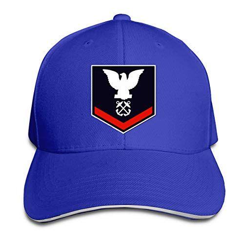 Donanma Boatswains Mate Üçüncü Sınıf Beyzbol Şapkası Ayarlanabilir Çatılı Sandviç Şapka Unisexe Erkekler Kadınlar Beyzbol Spor Outdoor Strapbacks şapka