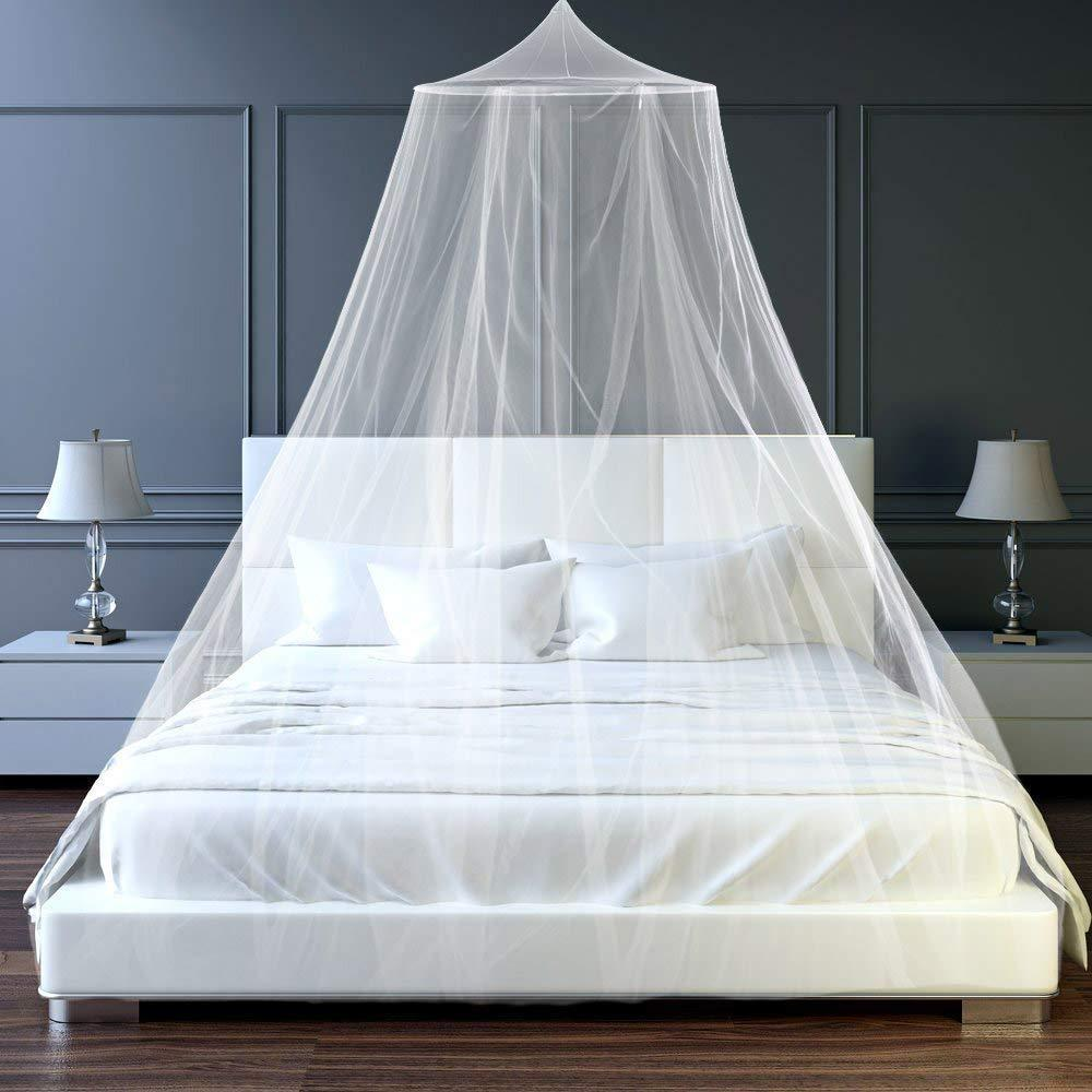 Elegant Bed Canopy Mosquito Net Para Duplo Mosquito Repelente Tent Insect Rejeitar Canopy Bed Cortina Bed Tent