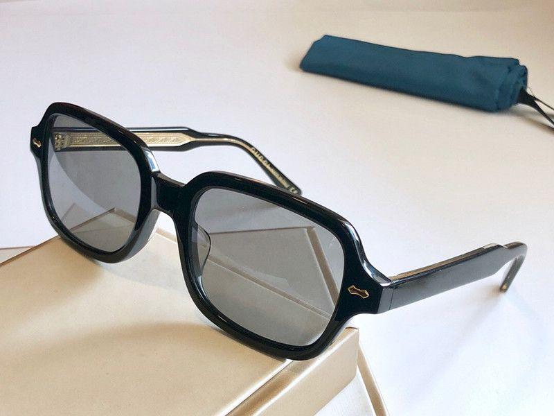 0072 Protección UV cuadrada con nuevas gafas de sol para mujeres y hombres de calidad Gafas de sol Classic Popular Top Vintage vienen con el marco de la caja FAS CXDB