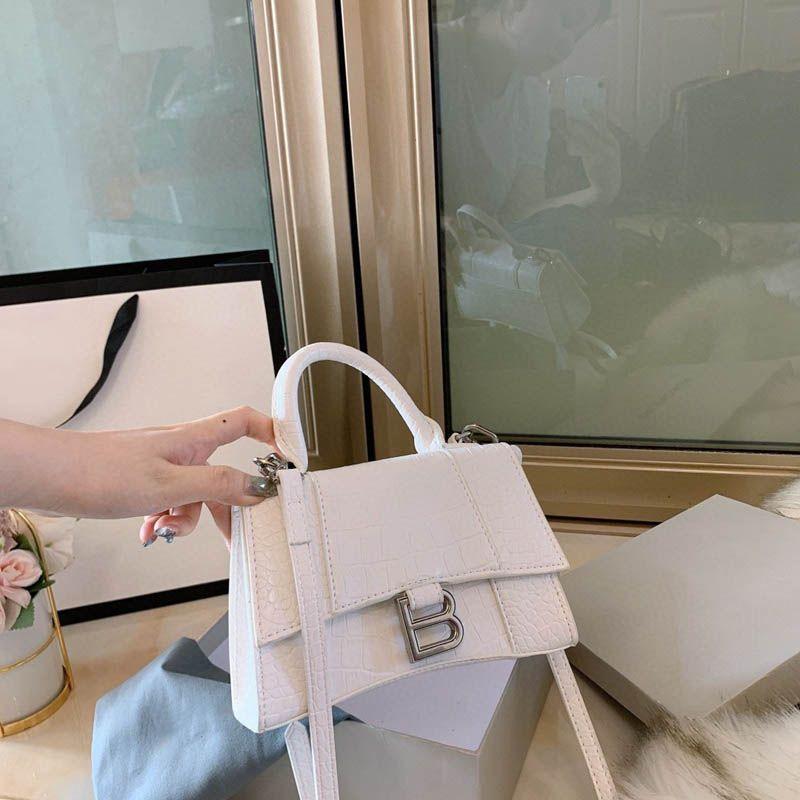 2020 Kadınlar Casual Omuz Çantaları Deri Moda Çanta Üçlü Siyah Beyaz Yeşil Kadın Üst Kol Çanta Düğün Mağaza Totes ile Kutusu