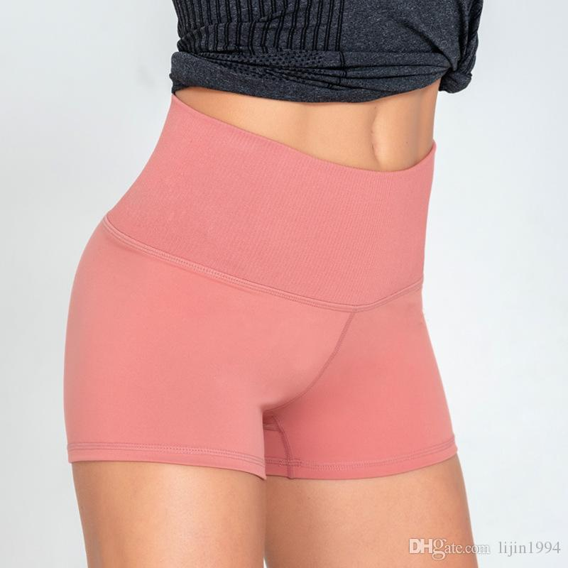 High Waist Yoga Shorts Patchwork Fitness Pants Quick Dry Running Clothing Tight Athletic Stretchy Butt Lift Leggings Sportswear