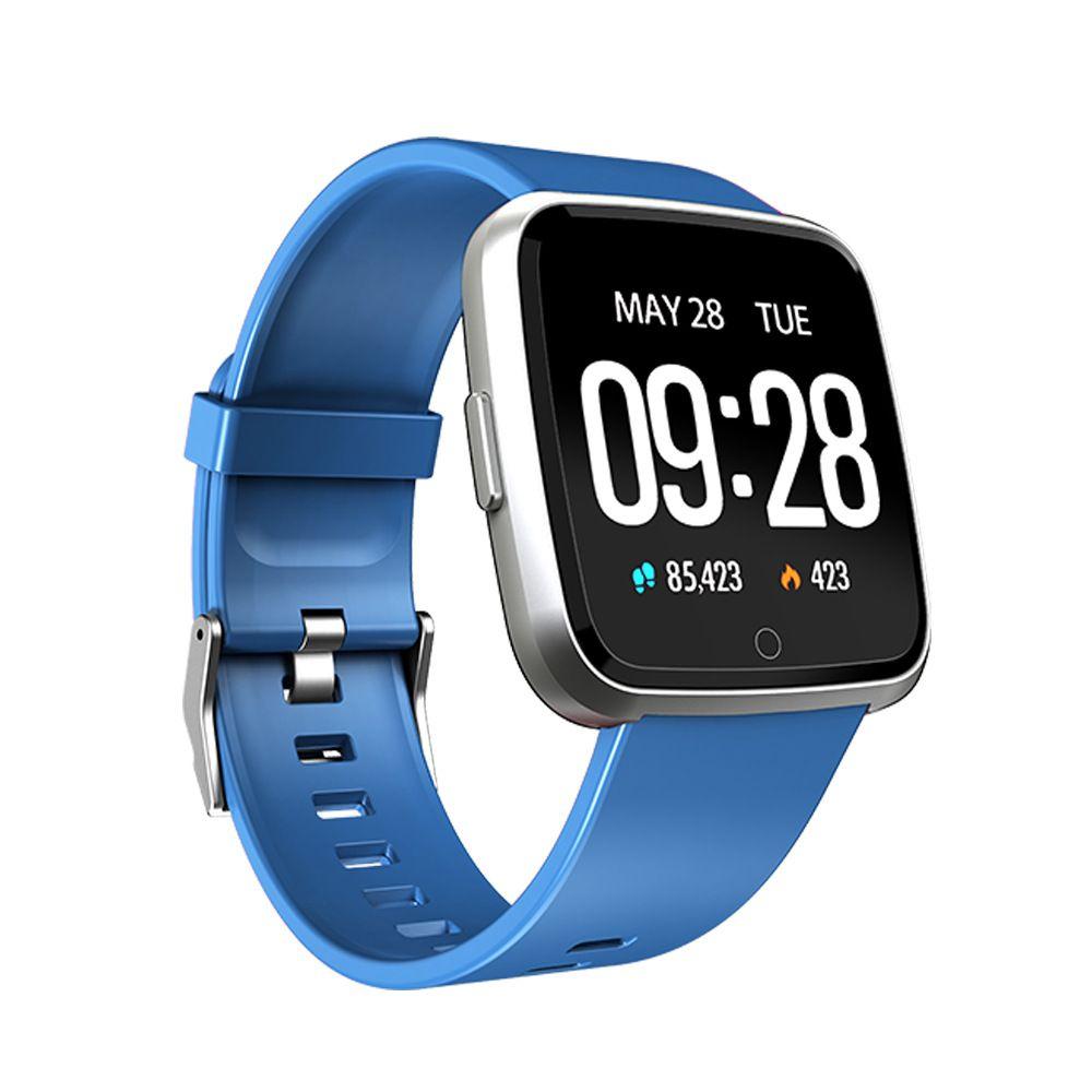 banda de pulsera inteligente Y7 de oxígeno de la presión arterial aptitud del deporte del reloj del perseguidor de monitor de ritmo cardíaco Muñequera Pk Fitbit Versa Mi 3 115 Plus