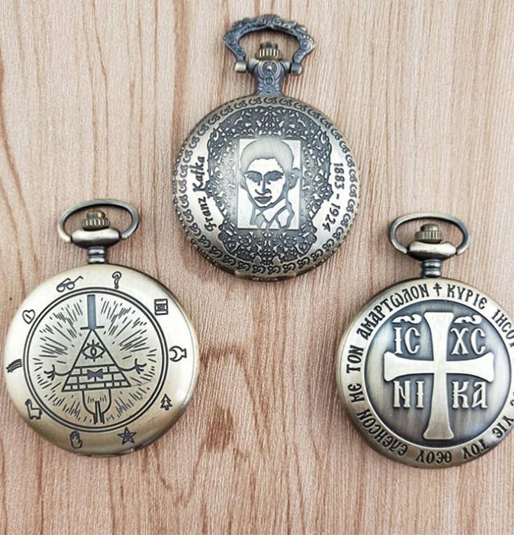 Quarzo Bronze freddo del quarzo del quarzo di buona qualità Uomini e regali della donna per l'orologio da tasca dei bambini misto con le vendite