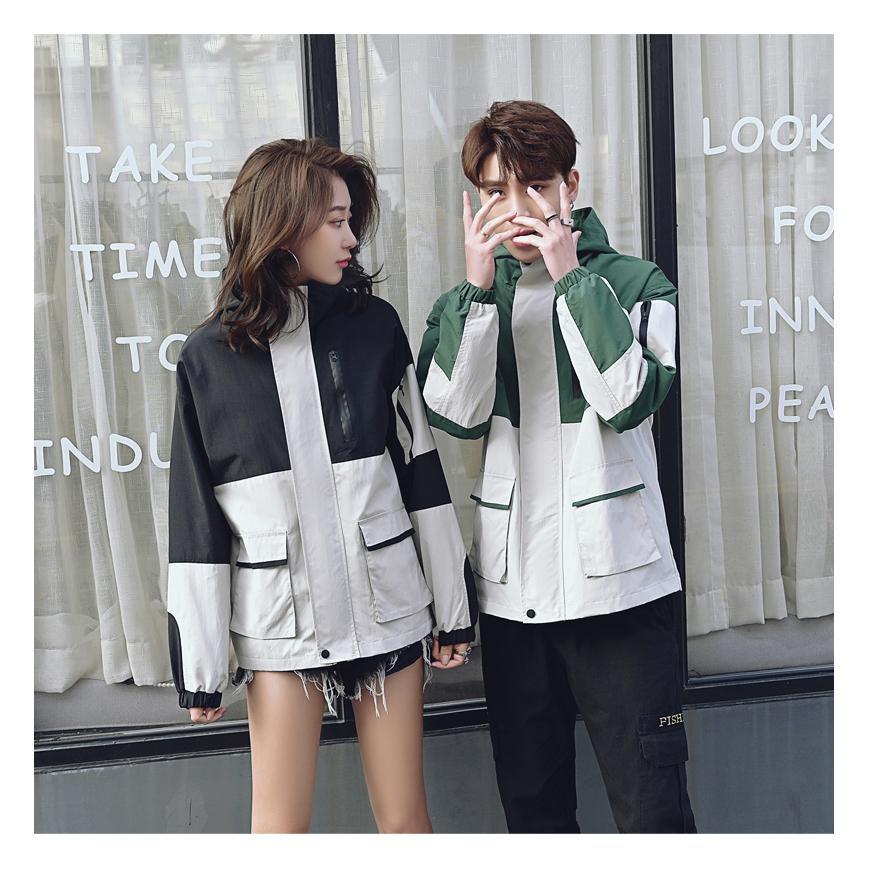 Mesmo sexo Marca Fashion Desportivo Jackets Mens Designer Primavera finos casacos Womens 2020 chegam novas Casual Sportswear Hot 2 Cor Baseball Jersey