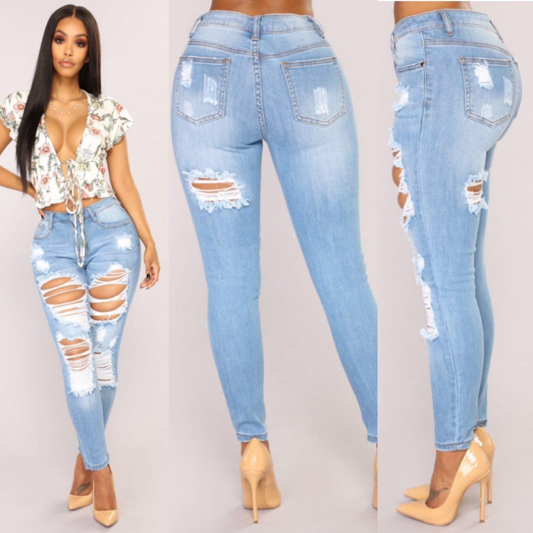 Compre 2019 Fashion Joker Jeans Pantalones De Mujer Cool Denim Vintage Lapiz Jeans Para Nina Pantalones Casuales De Cintura Alta Estilo De Verano Femenino A 15 33 Del Dreamgiftalex Dhgate Com