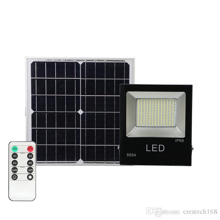Солнечный светодиодный светильник 30W 50W 100W Super яркая солнечная панель Plate Pange Plate Plate Plate Plate Plate Fight с пультом дистанционного управления